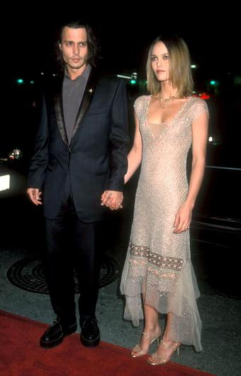 Johnny Depp & Vanessa Paradis (Photo by Barry King/WireImage)
