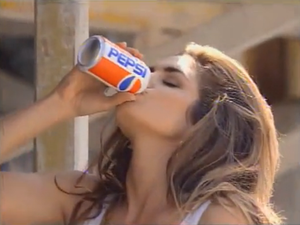 In the early 1990s, she was the ultimate Pepsi Girl in her sultry commercials for the brand