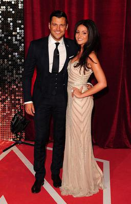Mark Wright and Michelle Keegan arriving for the 2013 British Soap Awards at MediaCityUK, Salford, Manchester.