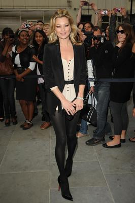 LONDON, UNITED KINGDOM - MAY 19: Kate Moss attends the launch party for the opening of TopShop's Knightsbridge store on May 19, 2010 in London, England. (Photo by Eamonn McCormack/WireImage)