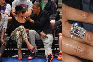When your husband is the richest hip hop artist in the world and youre not short of a few bob yourself, spending $5m on a diamond engagement ring probably doesnt seem like a big deal.