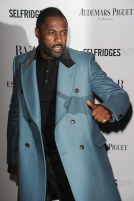 Idris Elba arrives for the Harpers Bazaar Women Of The Year Awards at Claridges Hotel on November 05, 2013 in London, England. (Photo by Stuart C. Wilson/Getty Images)