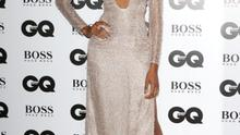 It was all about the plunging neckline this year and Jourdan Dunn joined the red carpet trend. Dunn just about carried off the look, but wed say the gaping neckline could easily have caused some panic during the evening.