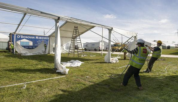 Dozens of companies have been working round the clock to ensure the 2013 Ploughing Championships is ready