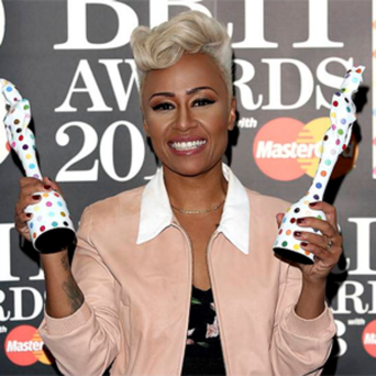 Emeli Sande was thrilled to pick up both Female Solo Artist and Album of the Year awards.
