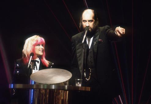 It was one of messiest Brits of all times when Samantha Fox presented the awards with Mick Fleetwood - think autocue fail and mixing up the winners.
