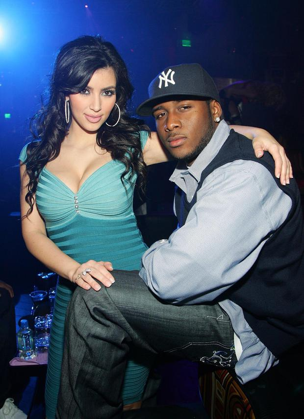 Kim Kardashian and ex-boyfriend Reggie Bush