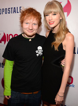 It has been reported that Taylor and Ed Sheeran first got together last year before splitting to focus on their music, but have rekindled their romance following Taylor's split from Ed's pal Harry Styles.They are said to have spent the night together before the Brits.