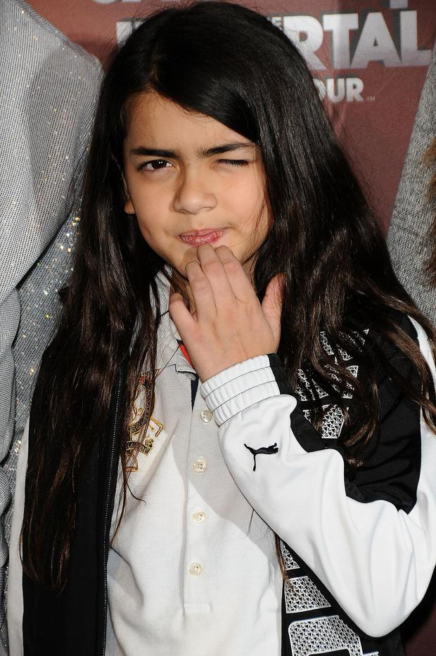 The late singer's youngest son, Prince Michael Jackson II, who goes by the name Blanket, was born to a surrogate in 2002.