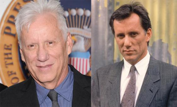 Maybe it's just that he's decided to ditch the dye bottle, but James Woods is looking different these days. Even his famous pockmarked skin is looking smoother.