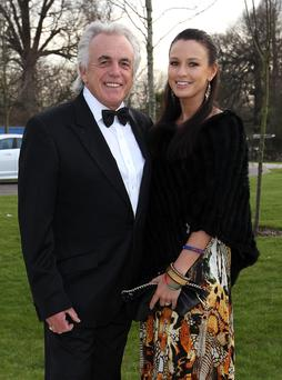 Peter Stringfellow, 72, and wife Bella Wright, 30, welcomed a little girl Rosabella into the world on August 1, 2013.