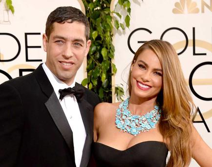 Modern Family actress Sofia Vergara and ex Nick Loeb