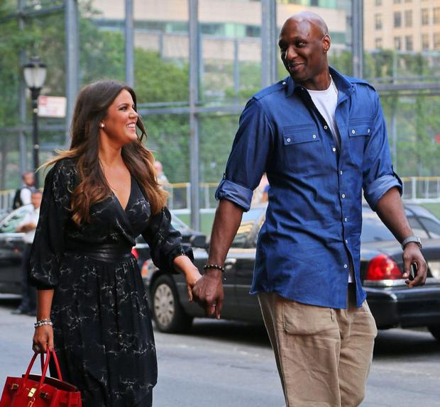 Khloe Kardashian and Lamar Odom wed after just a few weeks of dating.