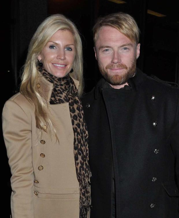 After 14 years of marriage, the former Boyzone star and his model wife ended their union, following Ronan's confession of infidelity. Both are now in new relationships: Ronan with TV producer Storm Uechtritz, and Yvonne and cameraman John Conroy.