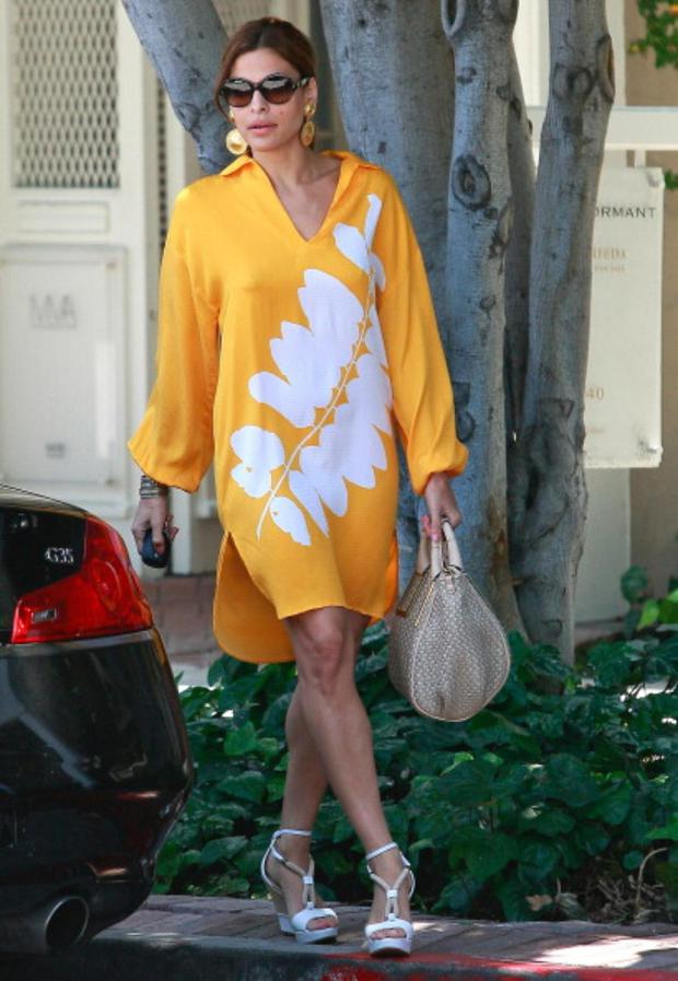 Eva Mendes in Los Angeles