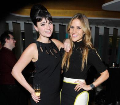 LONDON, ENGLAND - MARCH 26: Gizzi Erskine and Amanda Byram at W London - Leicester Square for the launch of Gizzi Erskine's remix of the W Rock Tea and her book 'Skinny Weeks and Weekend Feasts' on March 26, 2013 in London, England. (Photo by David M. Benett/Getty Images for W Hotel)