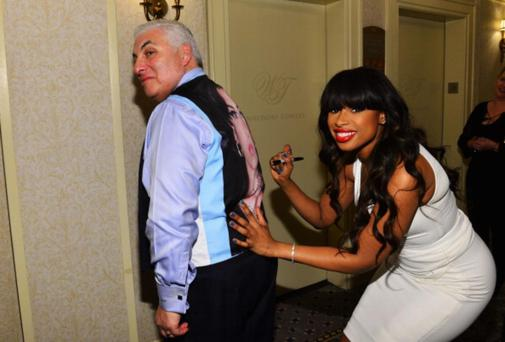 Jennifer Hudson and Mitch Winehouse