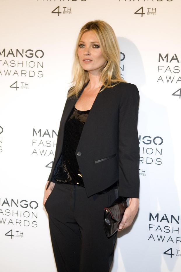 BARCELONA, SPAIN - MAY 30: Kate Moss attends the 4th Mango Fashion Awards 2012 Gala held at the Museu Nacional d'Art de Catalunya on May 30, 2012 in Barcelona, Spain. (Photo by Miquel Benitez/WireImage)