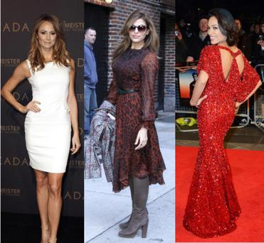 Tuesday night's red carpet fashion