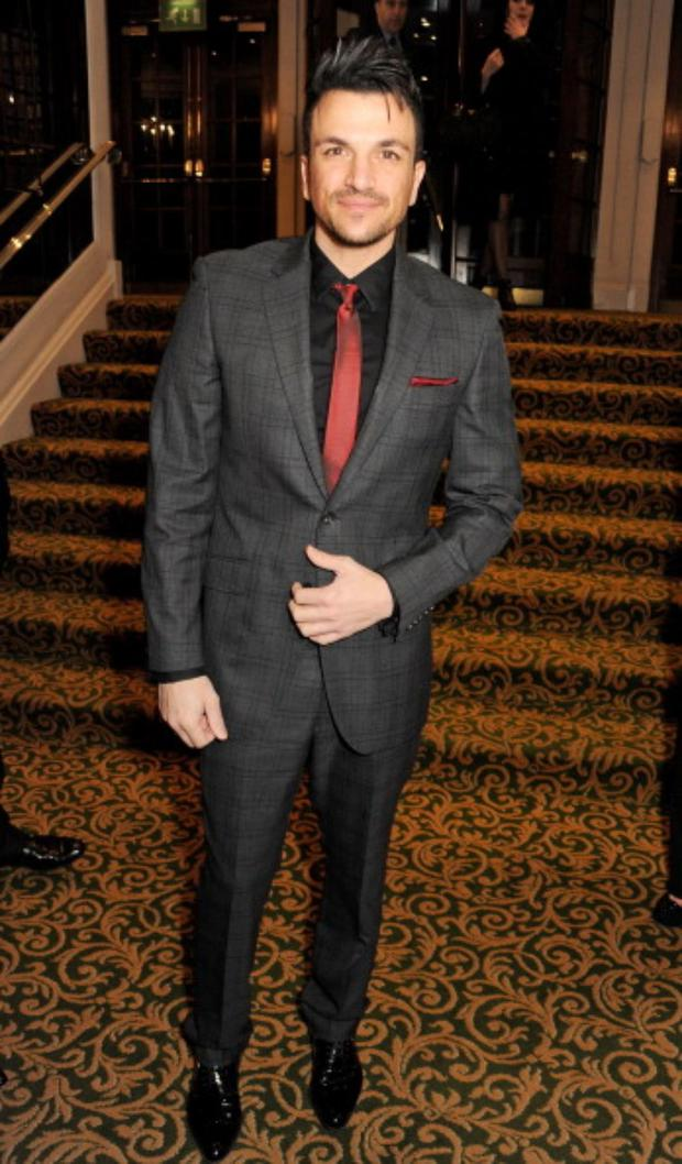 Peter Andre attends the TiE UK Awards 2013 at The Grosvenor House Hotel in London
