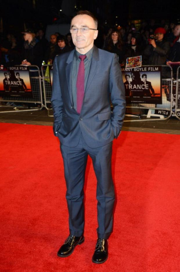 Danny Boyle attends the UK premiere of 'Trance' at The Odeon West End