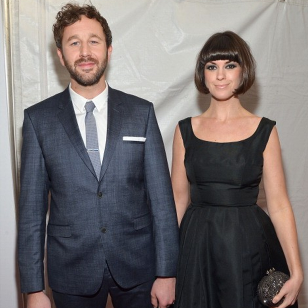 Chris O'Dowd and wife Dawn Porter
