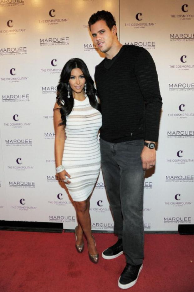 Kim Kardashian and Kris Humphries were man and wife for 72 days