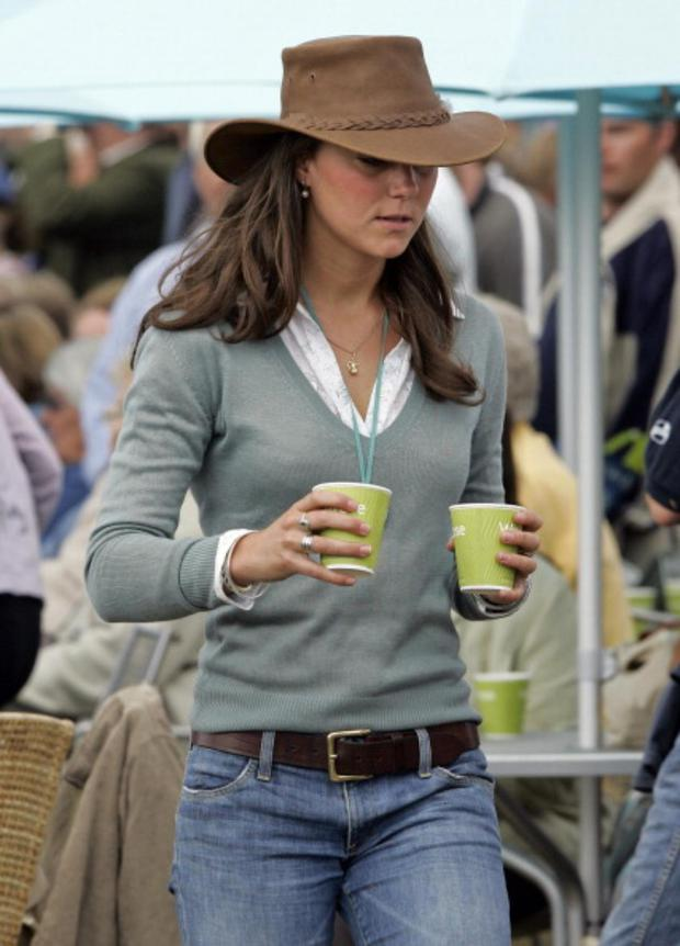 bc50cf31ee55 Kate Middleton attends the Festival of British Eventing at Gatcombe Park on  August 6