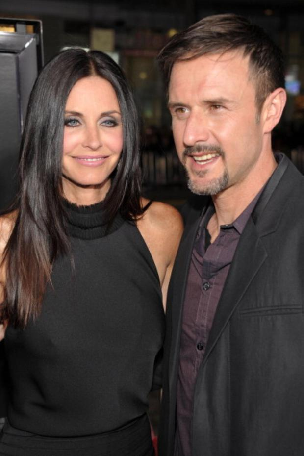 Courteney Cox, 48, and her ex-husband, David Arquette, 41.