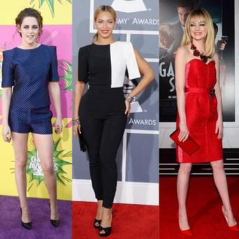 We count down the most stylish celebs of 2013