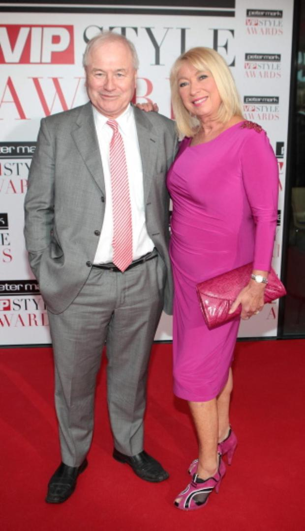 Dan McGrattan and Anne Doyle