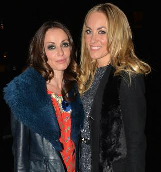 Sharon Corr and Kathryn Thomas