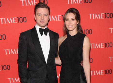 Justin Timberlake and Jessica Biel attend the 2013 Time 100 Gala at Frederick P. Rose Hall, Jazz at Lincoln Center on April 23, 2013 in New York City. (Photo by Jamie McCarthy/Getty Images)