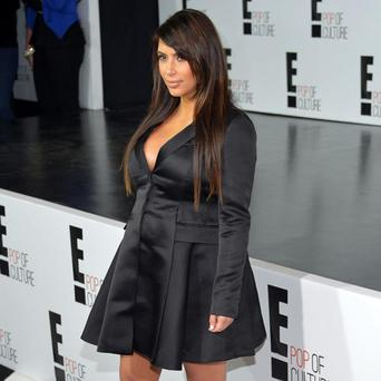 Kim Kardashian attends the E! 2013 Upfront at The Grand Ballroom at Manhattan Center on April 22, 2013 in New York City.