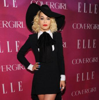 NEW YORK, NY - APRIL 10: Singer Rita Ora attends the 4th Annual ELLE Women in Music Celebration at The Edison Ballroom on April 10, 2013 in New York City. (Photo by Bryan Bedder/Getty Images for ELLE)