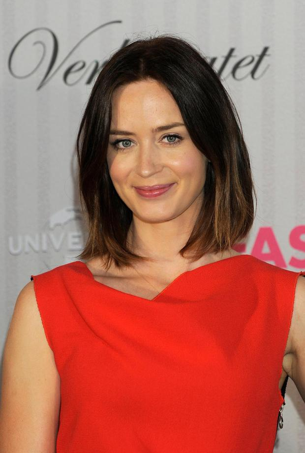 'The Five-Year Engagement' British star Emily Blunt, who is married 'The Office' actor John Krasinski is actress du jour.