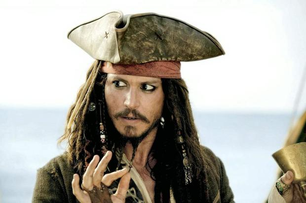 Jack Sparrow is the standout character of the 'Pirates of the Caribbean' films, in real life, Johnny Depp has a son with Vanessa Paradis called Jack.
