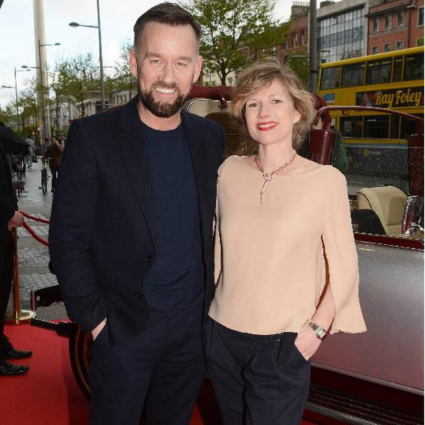 Brendan Courtney and Sonya Lennon arrive the Irish Premiere of The Great Gatsby at The Savoy, Dublin.