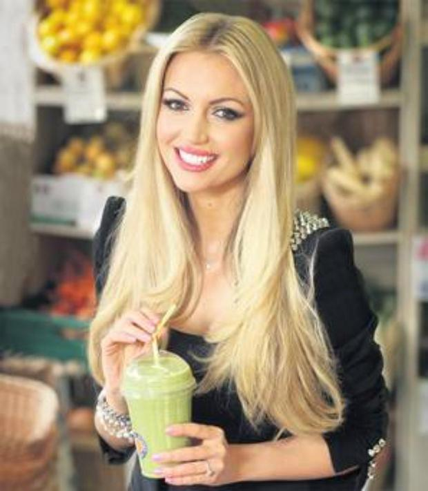 Enjoy a refreshingfruit-filled smoothie like Rosanna Davison, an easy way to get some of your 5-a-day.