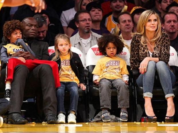 Heidi Klum has four children, three with ex-husband Seal: Leni, Henry, Lou and Johan Samuel.