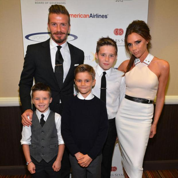 The Beckhams have it all: including Romeo, Brooklyn, Cruz and baby Harper.