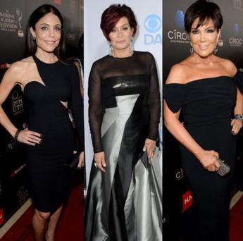 Bethenny Frankel, Sharon Osbourne and Kris Jenner