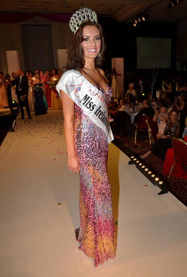 Holly Carpenter was Miss Ireland 2011