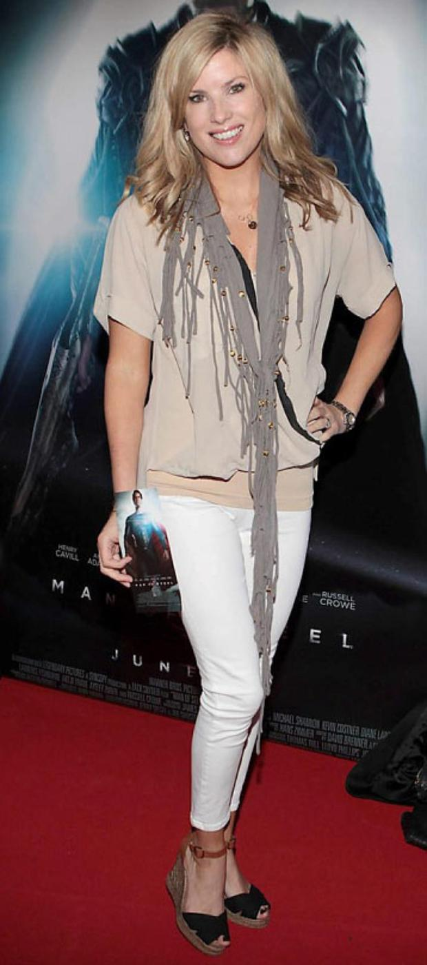 Jenny Buckley at The irish Premiere screening of Superman