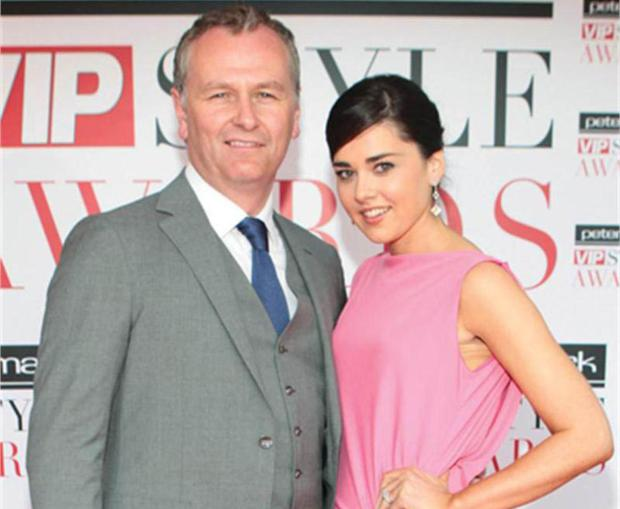 RTE presenter Daithi O Se and wife Rita Talty are expecting their first child next March.