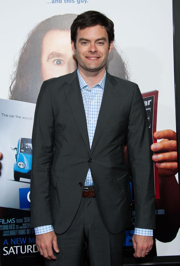 Bill Hader arrives at the Premiere Of HBO Films' 'Clear History' at ArcLight Cinemas Cinerama Dome on July 31, 2013 in Hollywood, California.