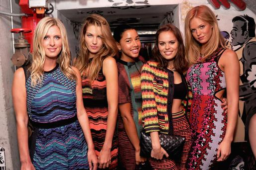 Nicky Hilton, Jessica Hart, Hannah Bronfman, Atlanta De Cadenet Taylor and Erin Heatherton attend M Missoni is for Music Summer Event at Le Bain Rooftop at The Standard on July 25, 2013 in New York City.