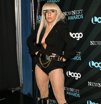Singer Lady Gaga's eccentric style was evident from the beginning of her career. Pictured in 2008 at the NewNow Awards.