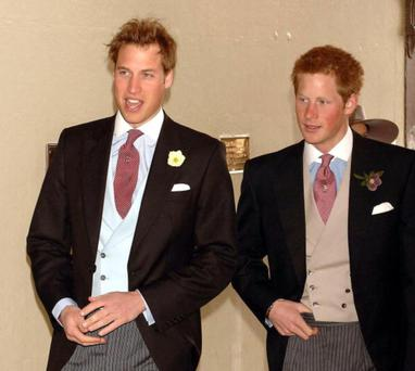 Britain's Prince William and Prince Harry (Photo by Anwar Hussein Collection/ROTA/WireImage)