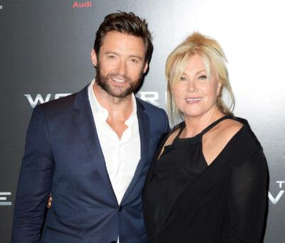 Hugh Jackman and wife Deborah-Lee Furness